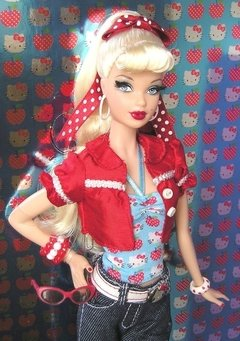 BARBIE HELLO KITTY 2008 - comprar online