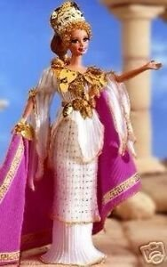Grecian Goddess Barbie doll