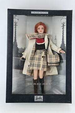 Burberry Barbie doll - comprar online