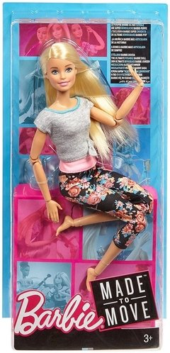 Barbie Made to Move - Original with Blonde Hair - comprar online