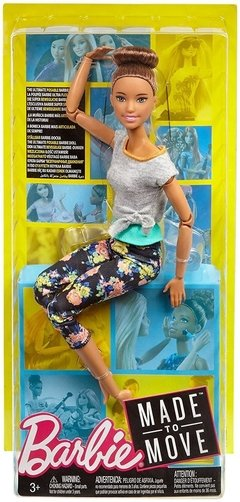 Barbie Made to Move - Original with Brunette Updo - comprar online