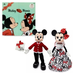 Mickey & Minnie Mouse Limited Edition Valentine's Day gifset - Michigan Dolls