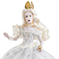 Alice Through the Looking Glass Mirana White Queen doll - comprar online