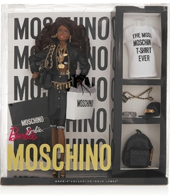Moschino Barbie doll ( negra )