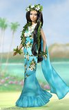 Princess of Pacific Islands Barbie Doll