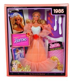 1985 My Favorite Barbie Peaches n' Cream - Michigan Dolls