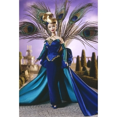The Peacock Barbie doll