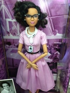 Barbie Katherine Johnson - Michigan Dolls
