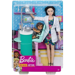 Barbie Dentista Playset Morena 2020 - Career doll na internet