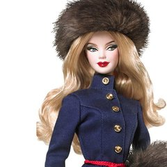 Barbie Russia Dolls of The World na internet