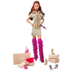 Dolly Forever Barbie doll by Christian Louboutin na internet
