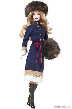 Barbie Russia Dolls of The World