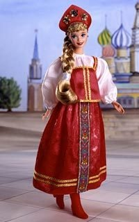 Barbie Russian Dolls of The World