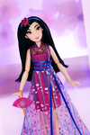Disney Princess Style Series Contemporary Mulan