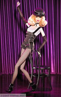 Cabaret Dancer Barbie doll