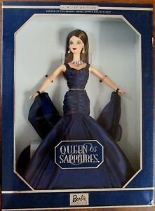 Queen of Sapphires Barbie doll - comprar online
