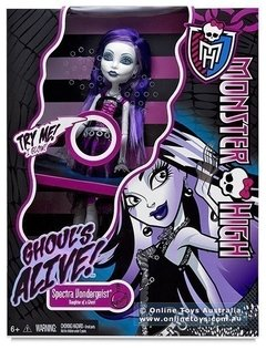 Monster High - Spectra Vondergeist - Ghoul's Alive