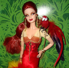 The Scarlet Macaw Barbie doll - comprar online