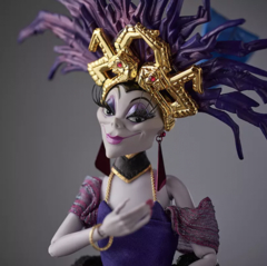 Yzma Limited Edition Doll – Disney Designer Collection Midnight Masquerade Series - Michigan Dolls
