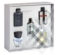 BURBERRY MEN MINIATURAS x5 unidades
