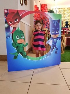 Display Decorativo Pj Masks Estrutura Festas na internet