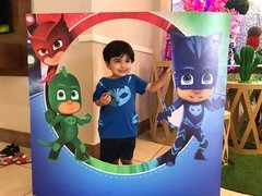 Display Decorativo Pj Masks Estrutura Festas