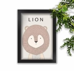 Quadro Decorativo Lion A3