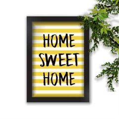 Quadro Decorativo Home Sweet Home A4