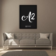 Quadro Decorativo Let's Stay Home