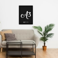Imagem do Quadro Decorativo Let's Stay Home
