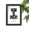 Quadro Decorativo The Beatles War Is Over