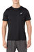 Remera Asics Men Silver Ss Top Performance