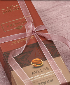 Tablete Chocolate ao Leite com Avelãs 100g na internet