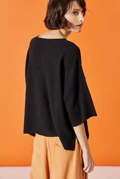 Sweater new mills negro - comprar online