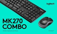 Combo Teclado Y Mouse Inalambrico Logitech Mk270 Usb Cuotas - GRUPO OFFICE POINT
