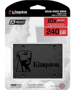 Disco Solido Kingston A400 2.5 240gb Notebook Pc Cuotas