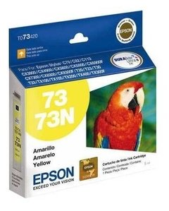 Cartucho Original Epson T73 Negro Cyan Magenta Amarillo - GRUPO OFFICE POINT
