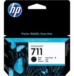 Cartucho Hp 711 Negro 80ml Cz133a Hp T120 T520 Envio S/c