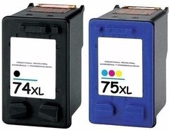 Combo Hp 74xl 75xl Alternativo C5280 C4280 C4480 Envio S/c
