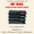 TONER ALTERNATIVO HP 124A Q6000A Q6001A Q6002A Q6003A