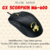 MOUSE GENIUS GX SCORPION M6-600 BLACK