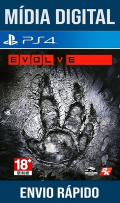 Evolve Ps4 Psn Original 1 Mídia Digital