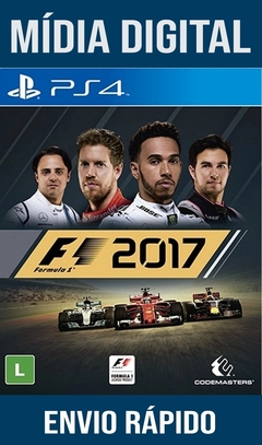 F1 2017 Ps4 Psn Original 1 Mídia Digital (Dub Br)