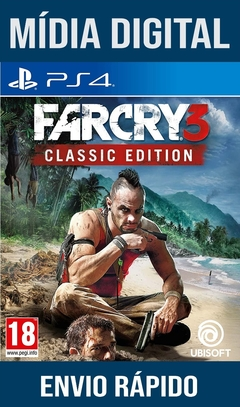 Far cry 3 Classic Edition Ps4 Psn Original 1 Mídia Digital (Leg Br)