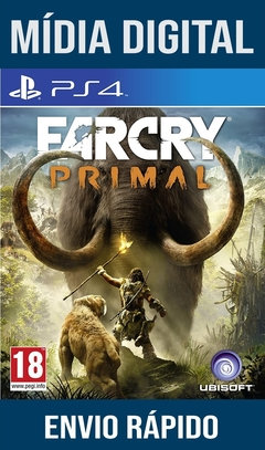 Far cry Primal Ps4 Psn Original 1 Mídia Digital (Leg Br)