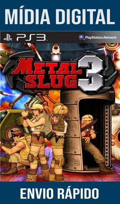 Metal Slug 3 Ps3 Psn Mídia Digital