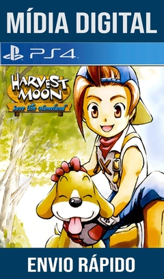 Harvest Moon Save The Homeland Ps4 Psn Original 1 Mídia Digital