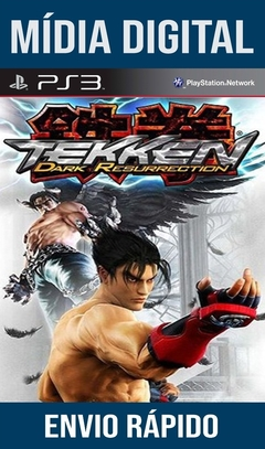 Tekken 5 Dark Resurrection Ps3 Psn Mídia Digital