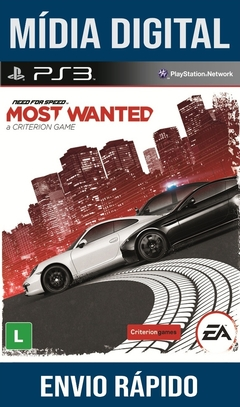 Need For Speed Most Wanted Ps3 Psn Mídia Digital