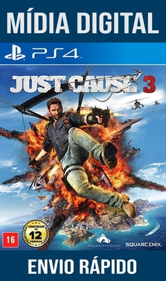 Just Cause 3 Ps4 Psn Original 1 Mídia Digital (Dub Br)